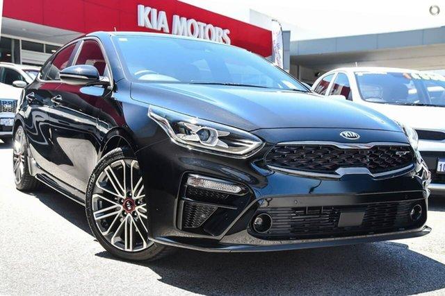 New Kia Cerato BD MY21 GT DCT Reynella, 2020 Kia Cerato BD MY21 GT DCT Black 7 Speed Sports Automatic Dual Clutch Hatchback