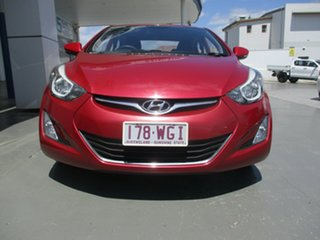2014 Hyundai Elantra MD Series 2 (MD3) Active Red 6 Speed Automatic Sedan