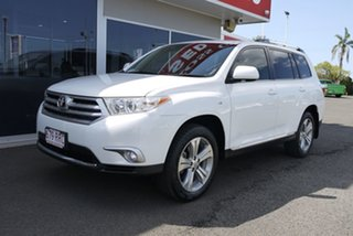 2011 Toyota Kluger GSU40R MY11 KX-S 2WD White 5 Speed Sports Automatic Wagon