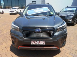 2020 Subaru Forester S5 MY21 2.5i Sport CVT AWD Magnetite Grey 7 Speed Constant Variable Wagon.