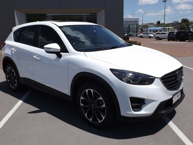 Used Mazda CX-5 KE1022 Akera SKYACTIV-Drive i-ACTIV AWD Toowoomba, 2016 Mazda CX-5 KE1022 Akera SKYACTIV-Drive i-ACTIV AWD 6 Speed Sports Automatic Wagon