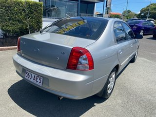 2002 Kia Spectra FB Silver 4 Speed Automatic Hatchback