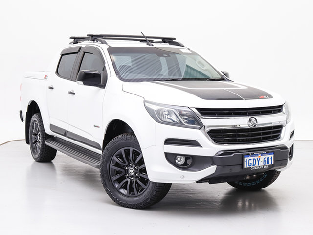 Used Holden Colorado RG MY17 Z71 (4x4), 2016 Holden Colorado RG MY17 Z71 (4x4) White 6 Speed Automatic Crew Cab Pickup