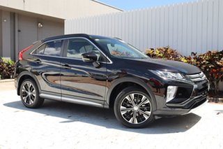 2018 Mitsubishi Eclipse Cross YA MY18 LS 2WD Black 8 Speed Constant Variable Wagon.