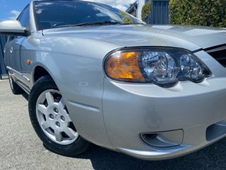 2002 Kia Spectra FB Silver 4 Speed Automatic Hatchback.