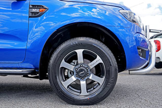 2017 Ford Ranger PX MkII XLS Double Cab Blue 6 Speed Sports Automatic Utility