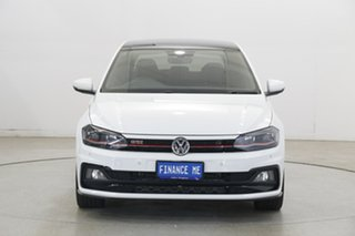 2019 Volkswagen Polo AW MY20 GTI DSG Pure White 6 Speed Sports Automatic Dual Clutch Hatchback.