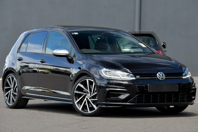 Demo Volkswagen Golf 7.5 MY20 R DSG 4MOTION Moorabbin, 2020 Volkswagen Golf 7.5 MY20 R DSG 4MOTION Black 7 Speed Sports Automatic Dual Clutch Hatchback