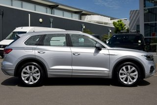 2020 Volkswagen Touareg CR MY20 190TDI Tiptronic 4MOTION Premium Silver 8 Speed Sports Automatic.
