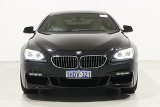 2014 BMW 640i F06 MY14 Gran Coupe Sapphire Black 8 Speed Automatic Coupe.