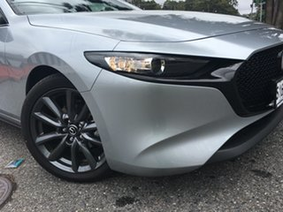 2020 Mazda 3 BP2H7A G20 SKYACTIV-Drive Touring Sonic Silver 6 Speed Sports Automatic Hatchback.