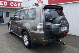 2012 Mitsubishi Pajero NW MY13 GLX-R Brown 5 Speed Sports Automatic Wagon