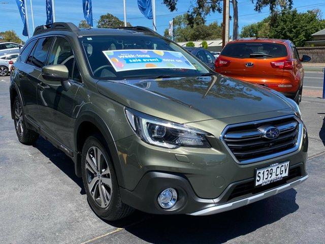 Demo Subaru Outback B6A MY20 2.5i CVT AWD Premium Glenelg, 2020 Subaru Outback B6A MY20 2.5i CVT AWD Premium Wilderness Green 7 Speed Constant Variable Wagon