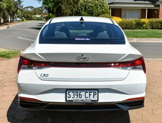 2020 Hyundai i30 CN7.V1 MY21 Active Polar White 6 Speed Sports Automatic Sedan