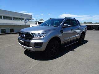 2019 Ford Ranger PX MKIII 2019.7 Wildtrak Aluminium 10 Speed Sports Automatic Double Cab Pick Up.