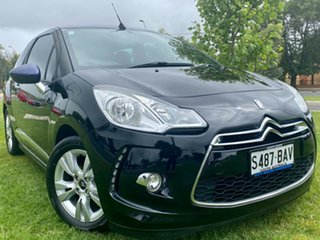 2013 Citroen DS3 MY13 DStyle Black 4 Speed Sports Automatic Cabriolet