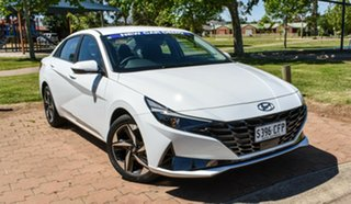 2020 Hyundai i30 CN7.V1 MY21 Active Polar White 6 Speed Sports Automatic Sedan.