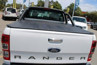 2012 Ford Ranger PX XLT Double Cab White 6 Speed Manual Utility