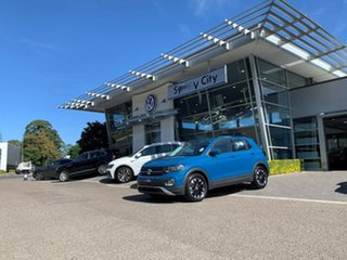 2020 Volkswagen T-Cross C1 MY20 85TSI DSG FWD Life Blue 7 Speed Sports Automatic Dual Clutch Wagon.