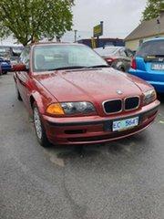 1999 BMW 318i E46 318i Red 4 Speed Automatic Sedan.