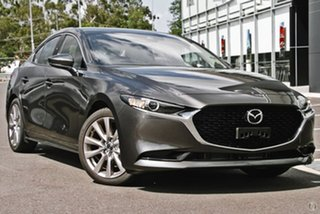 2020 Mazda 3 BP2S7A G20 SKYACTIV-Drive Touring Grey 6 Speed Sports Automatic Sedan.