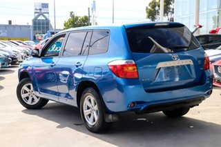 2010 Toyota Kluger GSU40R KX-R 2WD Blue 5 Speed Sports Automatic Wagon.