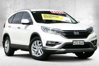 2016 Honda CR-V RM Series II MY17 VTi-S White Orchid 5 Speed Sports Automatic Wagon.