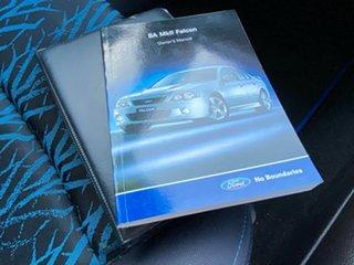 2005 Ford Falcon BA Mk II XR6 Blue 4 Speed Sports Automatic Sedan