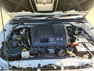 2006 Toyota Hilux KUN26R MY07 SR5 Xtra Cab White 5 Speed Manual Utility