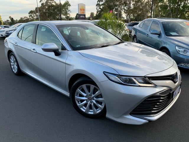 Used Toyota Camry ASV70R Ascent Bunbury, 2019 Toyota Camry ASV70R Ascent Silver 6 Speed Sports Automatic Sedan