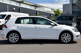 2020 Volkswagen Golf 7.5 MY20 110TSI DSG Highline White 7 Speed Sports Automatic Dual Clutch.
