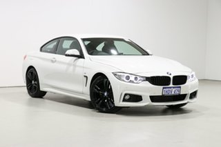 2015 BMW 420i F32 MY15 Sport Line White 8 Speed Automatic Coupe.