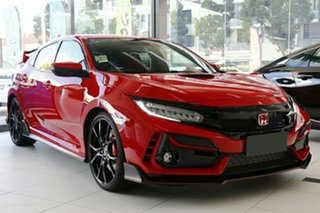 2020 Honda Civic 10th Gen MY21 Type R Rallye Red 6 Speed Manual Hatchback.