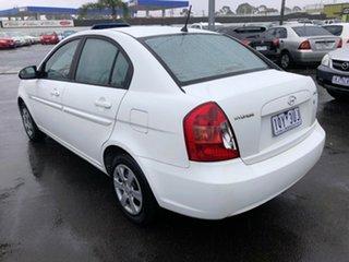 2007 Hyundai Accent MC 1.6 White 5 Speed Manual Sedan