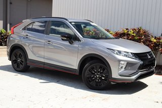 2018 Mitsubishi Eclipse Cross YA MY19 Black Edition 2WD Titanium Grey 8 Speed Constant Variable.