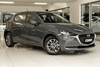 2020 Mazda 2 DJ2HAA G15 SKYACTIV-Drive Pure Grey 6 Speed Sports Automatic Hatchback.