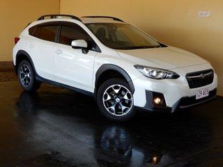2018 Subaru XV MY18 2.0I White Continuous Variable Wagon.