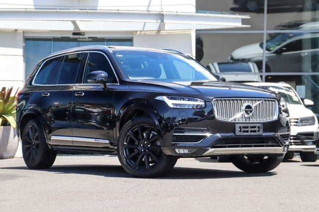 Used Volvo XC90 L Series MY16 T6 Geartronic AWD Inscription Sutherland, 2015 Volvo XC90 L Series MY16 T6 Geartronic AWD Inscription Black 8 Speed Sports Automatic Wagon