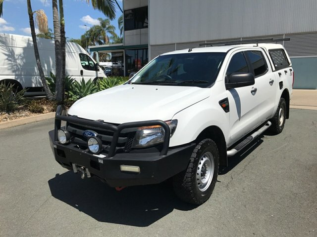 Used Ford Ranger PX XL Acacia Ridge, 2015 Ford Ranger PX XL White 6 speed Automatic Utility