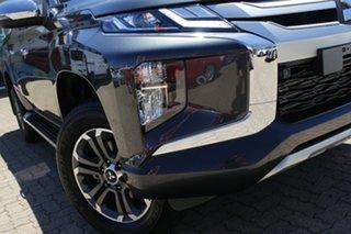 2018 Mitsubishi Triton MR MY19 GLS (4x4) Graphite Grey 6 Speed Automatic Double Cab Pick Up.