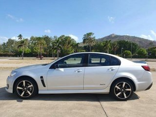 2016 Holden Commodore VF II MY16 SV6 Black Silver 6 Speed Sports Automatic Sedan