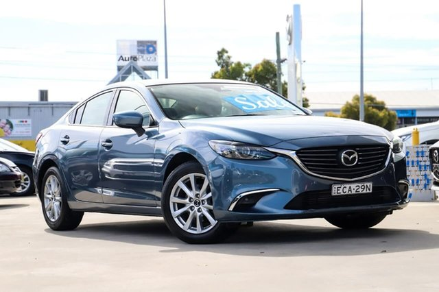 Used Mazda 6 GL1021 Touring SKYACTIV-Drive Kirrawee, 2016 Mazda 6 GL1021 Touring SKYACTIV-Drive Blue 6 Speed Sports Automatic Sedan