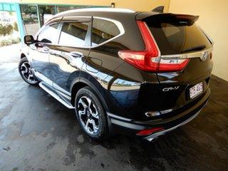 2017 Honda CR-V MY18 VTi-S (AWD) Black Continuous Variable Wagon.