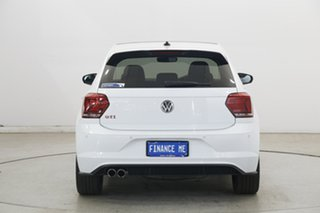 2019 Volkswagen Polo AW MY20 GTI DSG Pure White 6 Speed Sports Automatic Dual Clutch Hatchback