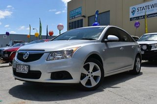 2012 Holden Cruze JH MY12 Equipe Silver 6 Speed Automatic Sedan.