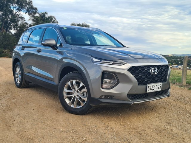 Used Hyundai Santa Fe TM MY19 Active Nailsworth, 2018 Hyundai Santa Fe TM MY19 Active Grey 6 Speed Sports Automatic Wagon