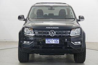 2020 Volkswagen Amarok 2H MY20 TDI550 4MOTION Perm Sportline Deep Black Pearl Effect 8 Speed.