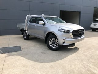 2020 Mazda BT-50 TFS40J XT Ingot Silver 6 Speed Sports Automatic Cab Chassis.