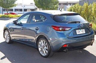 2016 Mazda 3 Blue Hatchback