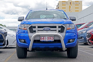2017 Ford Ranger PX MkII XLS Double Cab Blue 6 Speed Sports Automatic Utility.